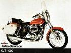"""Harley-Davidson Harley Davidson XLT 1000 Touring Sportster """"Baby Dresser""""."""